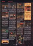 Scan of the walkthrough of Doom 64 published in the magazine GamePro 104