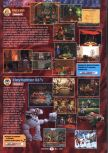 Scan of the preview of ClayFighter 63 1/3 published in the magazine GamePro 104
