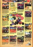 Scan of the walkthrough of Mario Kart 64 published in the magazine GamePro 107