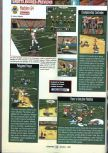 Scan of the preview of Madden 64 published in the magazine GamePro 109