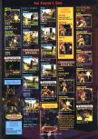Scan of the walkthrough of Mace: The Dark Age published in the magazine GamePro 109, page 8