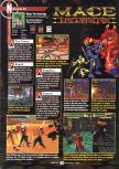Scan of the review of Mace: The Dark Age published in the magazine GamePro 110, page 1