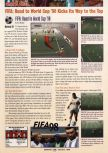 Scan of the review of FIFA 98: Road to the World Cup published in the magazine GamePro 113, page 1