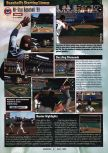Scan of the preview of All-Star Baseball '99 published in the magazine GamePro 115