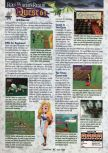 Scan of the review of Holy Magic Century published in the magazine GamePro 118, page 1