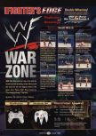 Scan of the walkthrough of WWF War Zone published in the magazine GamePro 119, page 1