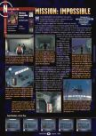 Scan of the review of Mission: Impossible published in the magazine GamePro 119