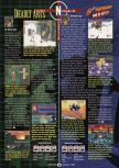 Scan of the review of Bomberman Hero published in the magazine GamePro 121, page 1