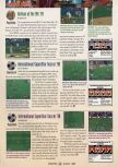 Scan of the review of International Superstar Soccer 98 published in the magazine GamePro 121