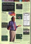 Scan of the walkthrough of Madden 64 published in the magazine GamePro 111, page 1