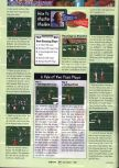 Scan of the walkthrough of Madden 64 published in the magazine GamePro 111, page 2