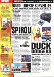 Scan of the preview of Duck Dodgers Starring Daffy Duck published in the magazine Consoles Max 08