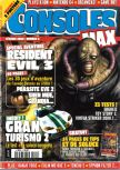 Cover scan of magazine Consoles Max  08