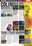 Scan of the preview of Banjo-Tooie published in the magazine Consoles Max 08