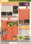 Scan of the preview of Perfect Dark published in the magazine Consoles Max 08