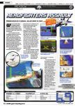 Scan of the review of Aero Fighters Assault published in the magazine Ultra Game Player 01
