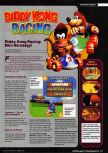 Scan of the walkthrough of Diddy Kong Racing published in the magazine Ultra Game Player 01