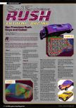 Scan of the walkthrough of San Francisco Rush published in the magazine Ultra Game Player 01