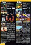Scan of the review of NASCAR '99 published in the magazine Game Informer 66, page 1