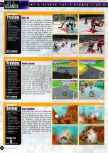 Scan of the preview of Penny Racers published in the magazine Game Informer 66, page 1