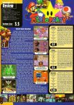 Scan of the review of Mario Party published in the magazine Game Informer 71, page 1