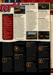 Scan of the walkthrough of Mario Kart 64 published in the magazine 64 Solutions 01, page 2