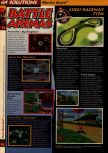 Scan of the walkthrough of Mario Kart 64 published in the magazine 64 Solutions 01, page 3