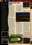 Scan of the walkthrough of Mario Kart 64 published in the magazine 64 Solutions 01, page 4