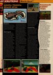 Scan of the walkthrough of Mario Kart 64 published in the magazine 64 Solutions 01, page 5