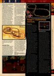 Scan of the walkthrough of Mario Kart 64 published in the magazine 64 Solutions 01, page 6