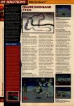 Scan of the walkthrough of Mario Kart 64 published in the magazine 64 Solutions 01, page 7