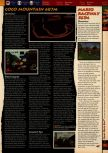 Scan of the walkthrough of Mario Kart 64 published in the magazine 64 Solutions 01, page 8