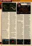 Scan of the walkthrough of Mario Kart 64 published in the magazine 64 Solutions 01, page 9