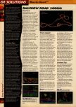 Scan of the walkthrough of Mario Kart 64 published in the magazine 64 Solutions 01, page 15