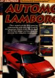 Scan of the walkthrough of Automobili Lamborghini published in the magazine 64 Solutions 04, page 1