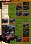 Scan of the walkthrough of Automobili Lamborghini published in the magazine 64 Solutions 04, page 5