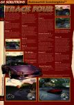 Scan of the walkthrough of Automobili Lamborghini published in the magazine 64 Solutions 04, page 9