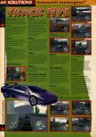 Scan of the walkthrough of Automobili Lamborghini published in the magazine 64 Solutions 04, page 11