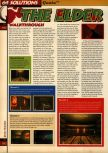 Scan of the walkthrough of Quake published in the magazine 64 Solutions 05, page 43