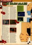 Scan of the walkthrough of Quake published in the magazine 64 Solutions 05, page 47