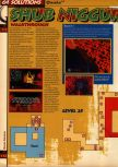 Scan of the walkthrough of Quake published in the magazine 64 Solutions 05, page 53