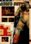 Scan of the walkthrough of Quake published in the magazine 64 Solutions 05, page 54