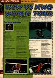 Scan of the walkthrough of WCW vs. NWO: World Tour published in the magazine 64 Solutions 05, page 1