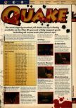 Scan of the walkthrough of Quake published in the magazine 64 Solutions 05, page 2