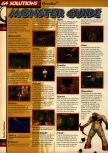 Scan of the walkthrough of Quake published in the magazine 64 Solutions 05, page 3