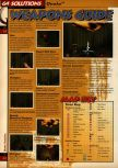 Scan of the walkthrough of Quake published in the magazine 64 Solutions 05, page 5