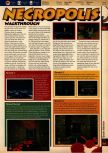 Scan of the walkthrough of Quake published in the magazine 64 Solutions 05, page 11