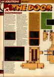 Scan of the walkthrough of Quake published in the magazine 64 Solutions 05, page 14