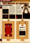Scan of the walkthrough of Quake published in the magazine 64 Solutions 05, page 16