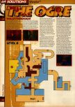 Scan of the walkthrough of Quake published in the magazine 64 Solutions 05, page 19